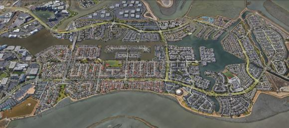 Active Waterfront Homes For Sale on the Redwood Shores Lagoon